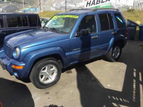 2003 Jeep Liberty for sale at Emerald Valley Auto Sales in Des Moines WA
