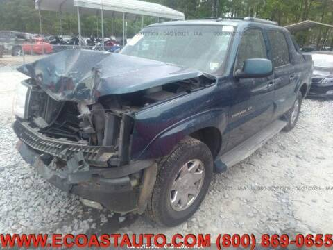 2005 Cadillac Escalade EXT for sale at East Coast Auto Source Inc. in Bedford VA