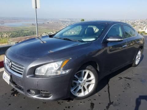 2012 Nissan Maxima for sale at Trini-D Auto Sales Center in San Diego CA