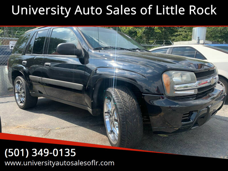 2005 Chevrolet TrailBlazer for sale at University Auto Sales of Little Rock in Little Rock AR