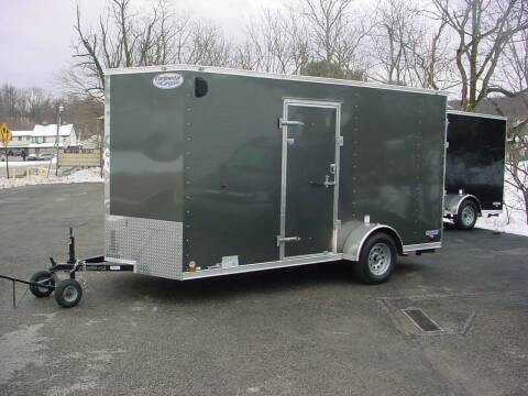 """2021 Forest River 6.5x14+12"""" EXTRA HEIGHT for sale at S. A. Y. Trailers in Loyalhanna PA"""