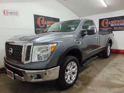 2017 Nissan Titan XD for sale at Champion Motors in Amherst NH