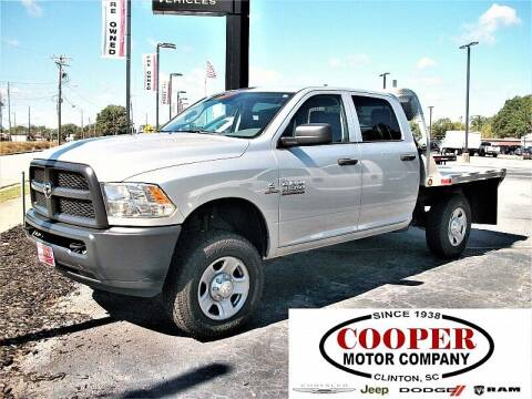 2018 RAM Ram Pickup 2500 for sale at Cooper Motor Company in Clinton SC