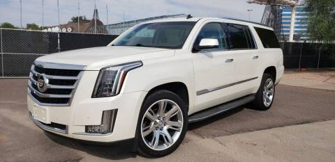 2015 Cadillac Escalade ESV for sale at Arizona Auto Resource in Tempe AZ