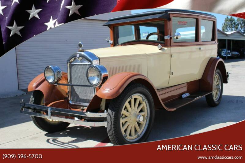 1926 Buick Standard Six for sale at American Classic Cars in La Verne CA