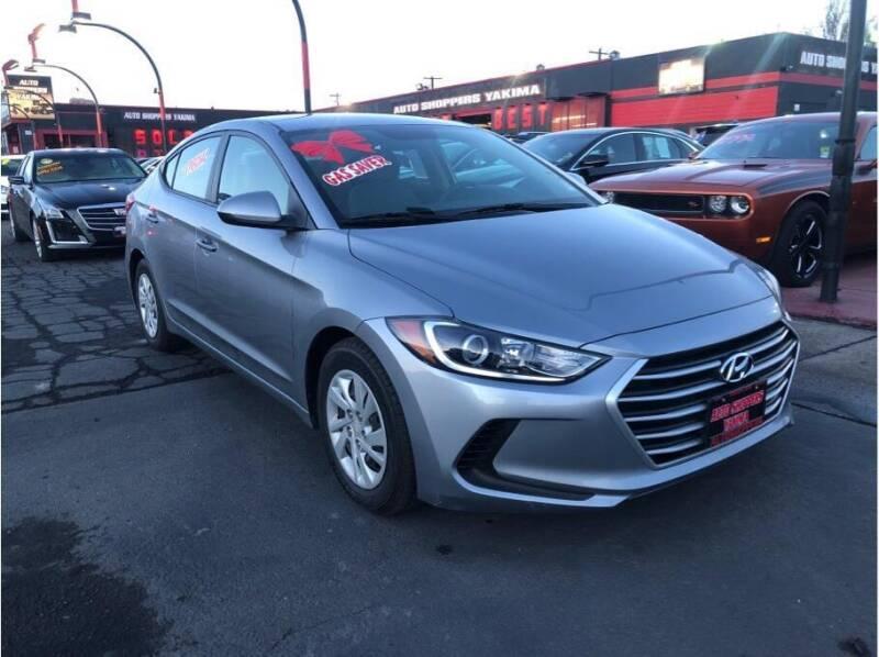2017 Hyundai Elantra for sale at AUTO SHOPPERS LLC in Yakima WA