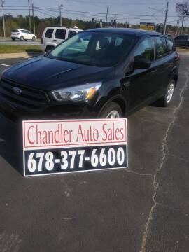 2017 Ford Escape for sale at Chandler Auto Sales - ABC Rent A Car in Lawrenceville GA