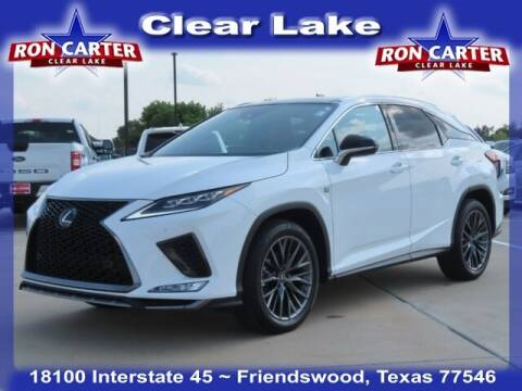 2021 Lexus RX 350 for sale at Ron Carter  Clear Lake Used Cars in Houston TX