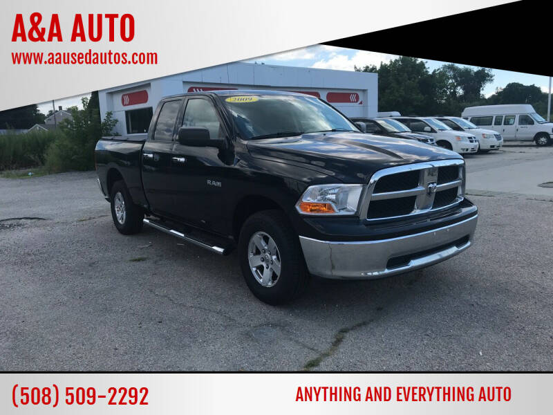 2009 Dodge Ram Pickup 1500 for sale at A&A AUTO in Fairhaven MA