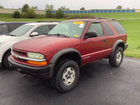 2002 Chevrolet Blazer for sale at Auto Martt, LLC in Harrodsburg KY