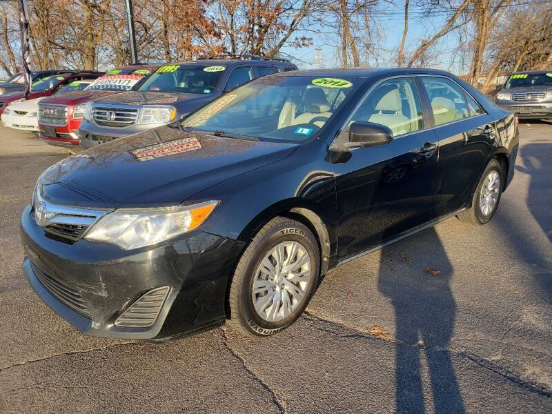 2012 Toyota Camry for sale at Real Deal Auto Sales in Manchester NH