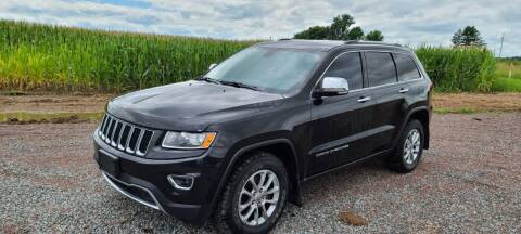 2014 Jeep Grand Cherokee for sale at Shinkles Auto Sales & Garage in Spencer WI