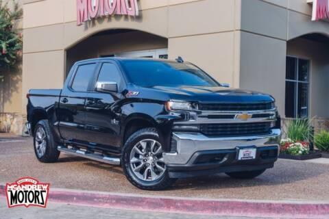 2020 Chevrolet Silverado 1500 for sale at Mcandrew Motors in Arlington TX