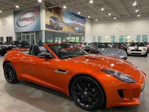 2014 Jaguar F-TYPE for sale at Godspeed Motors in Charlotte NC