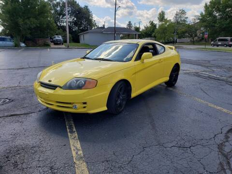 2004 Hyundai Tiburon for sale at USA AUTO WHOLESALE LLC in Cleveland OH