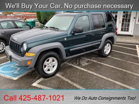 2005 Jeep Liberty for sale at Platinum Autos in Woodinville WA