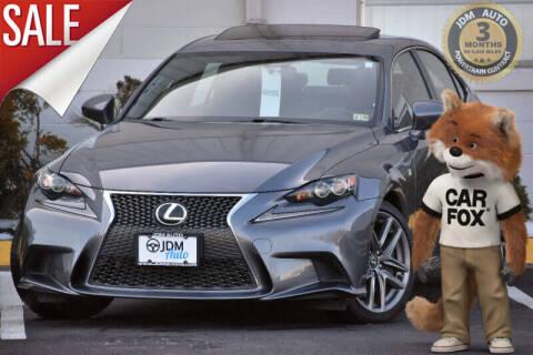2016 Lexus IS 300 for sale at JDM Auto in Fredericksburg VA
