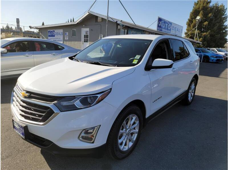 2018 Chevrolet Equinox for sale at AutoDeals in Daly City CA