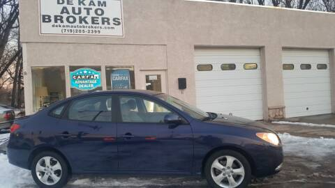 2010 Hyundai Elantra for sale at De Kam Auto Brokers in Colorado Springs CO