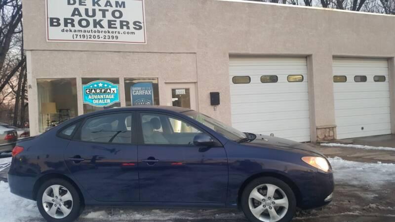 2010 Hyundai Elantra for sale at De Kam Auto Brokers in Colorado Springs CO