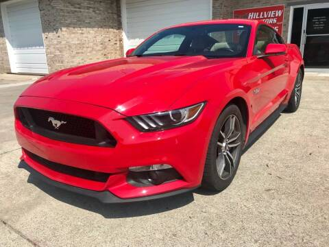 2015 Ford Mustang for sale at HillView Motors in Shepherdsville KY