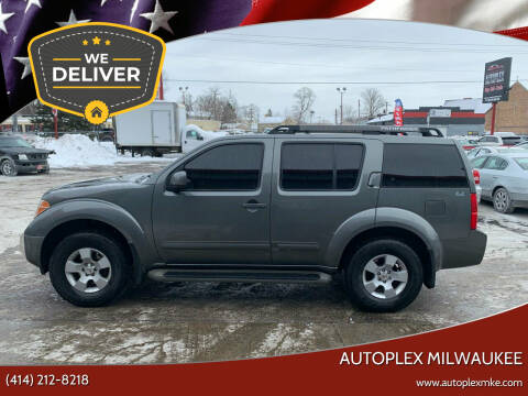 2007 Nissan Pathfinder for sale at Autoplex 2 in Milwaukee WI