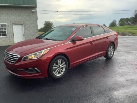 2016 Hyundai Sonata for sale at Auto Martt, LLC in Harrodsburg KY