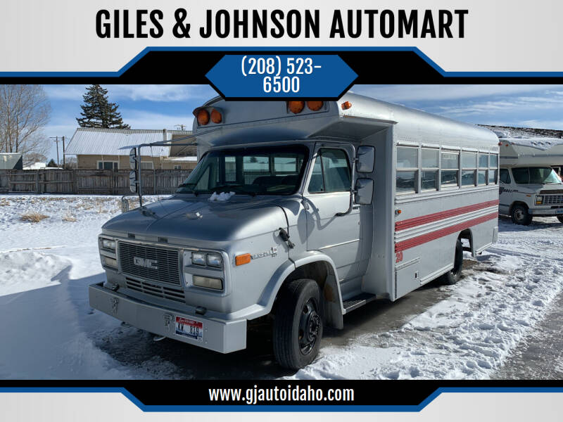 1995 GMC Forward Control Chassis for sale at GILES & JOHNSON AUTOMART in Idaho Falls ID
