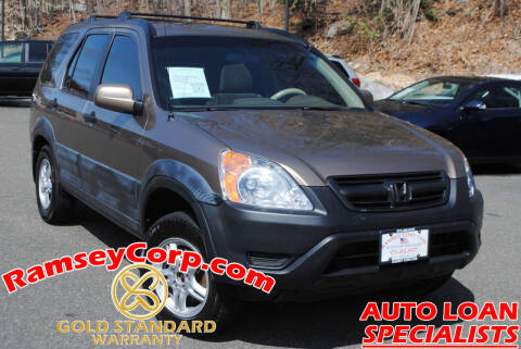 2002 Honda CR-V for sale at Ramsey Corp. in West Milford NJ