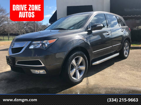 2011 Acura MDX for sale at DRIVE ZONE AUTOS in Montgomery AL