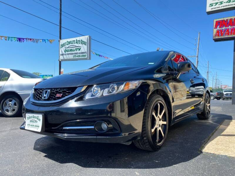 2013 Honda Civic for sale at Robbie's Auto Sales and Complete Auto Repair in Rolla MO