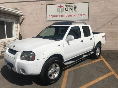 2001 Nissan Frontier for sale at SQUARE ONE AUTO LLC in Murray UT