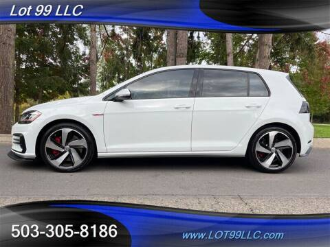 2019 Volkswagen Golf GTI for sale at LOT 99 LLC in Milwaukie OR