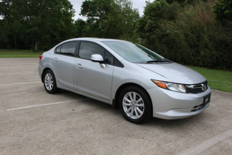 2012 Honda Civic for sale at Clear Lake Auto World in League City TX