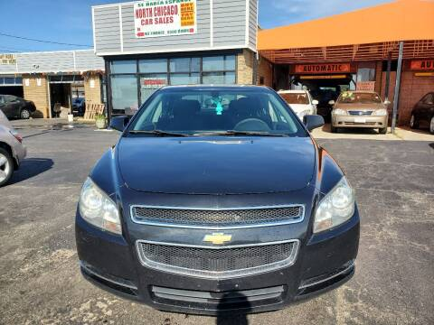 2012 Chevrolet Malibu for sale at North Chicago Car Sales Inc in Waukegan IL