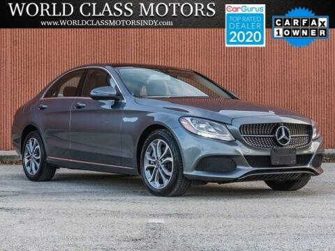 2017 Mercedes-Benz C-Class for sale at World Class Motors LLC in Noblesville IN