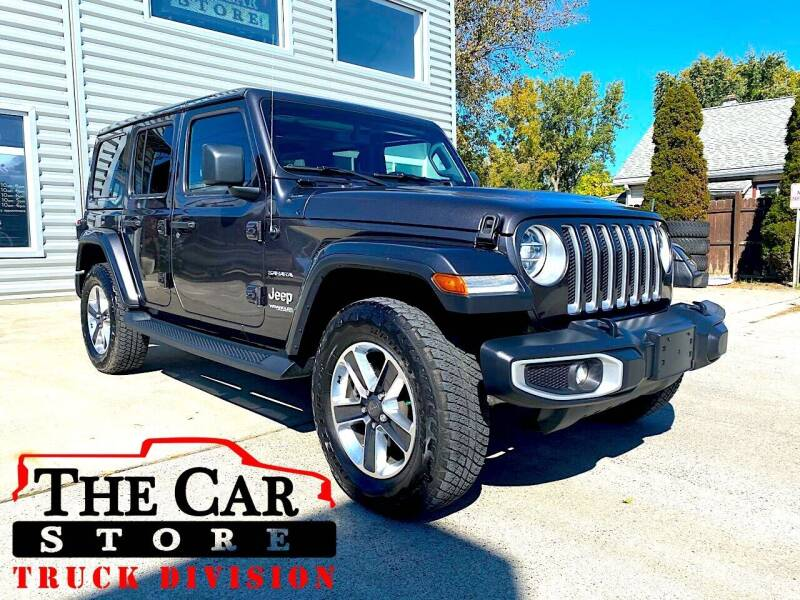 2019 Jeep Wrangler Unlimited for sale at The Car Store Inc in Albany NY