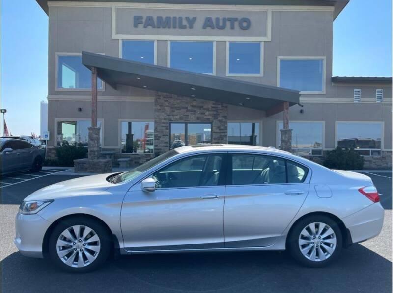 2014 Honda Accord for sale at Moses Lake Family Auto Center in Moses Lake WA