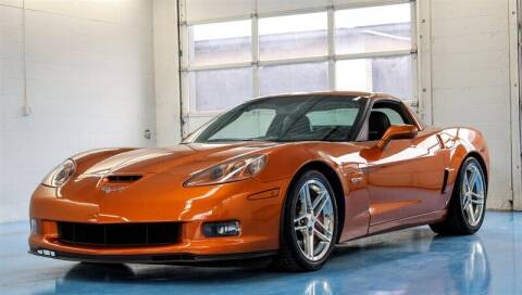 2007 Chevrolet Corvette for sale at Mershon's World Of Cars Inc in Springfield OH