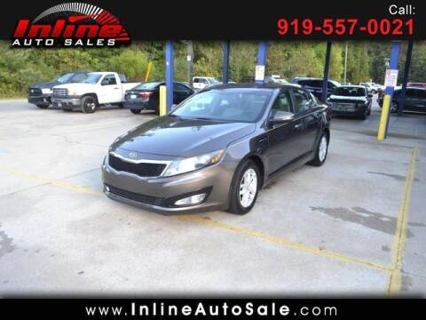2012 Kia Optima for sale at Inline Auto Sales in Fuquay Varina NC