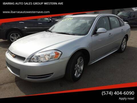 2012 Chevrolet Impala for sale at Ibarras Group - IBARRAS AUTO SALES GROUP WESTERN AVE in South Bend IN
