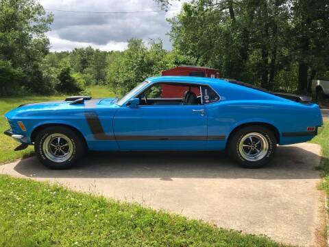 1970 Ford Mustang Boss 302 for sale at Cella  Motors LLC in Auburn NH