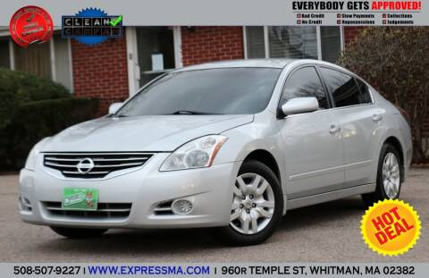 2012 Nissan Altima for sale at Auto Sales Express in Whitman MA