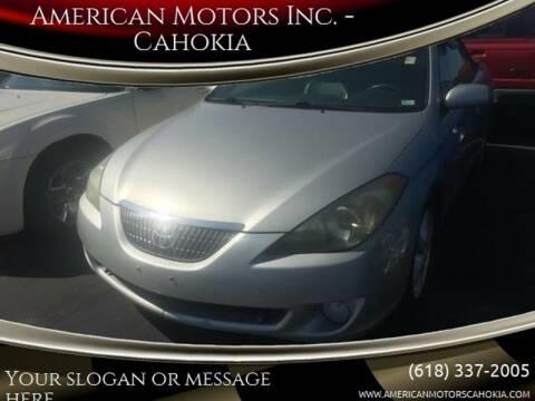 2004 Toyota Camry Solara for sale at American Motors Inc. - Cahokia in Cahokia IL