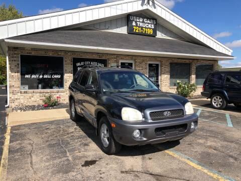 2003 Hyundai Santa Fe for sale at Imlay City Auto Sales LLC. in Imlay City MI