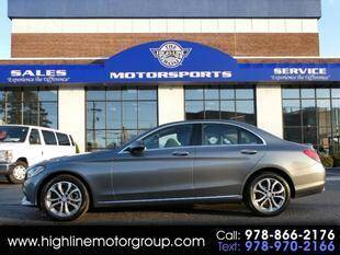 2017 Mercedes-Benz C-Class for sale at Highline Group Motorsports in Lowell MA