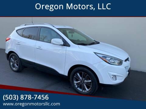 2014 Hyundai Tucson for sale at Oregon Motors, LLC in Portland OR