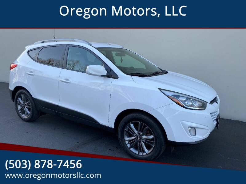2014 Hyundai Tucson for sale at Oregon Motors, LLC in Portland OR