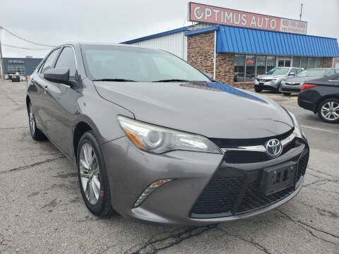 2016 Toyota Camry for sale at Optimus Auto in Omaha NE