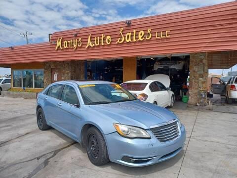 2013 Chrysler 200 for sale at Marys Auto Sales in Phoenix AZ